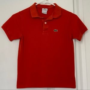 Other - Authentic Classic Lacoste Pique Polo Kids US S10